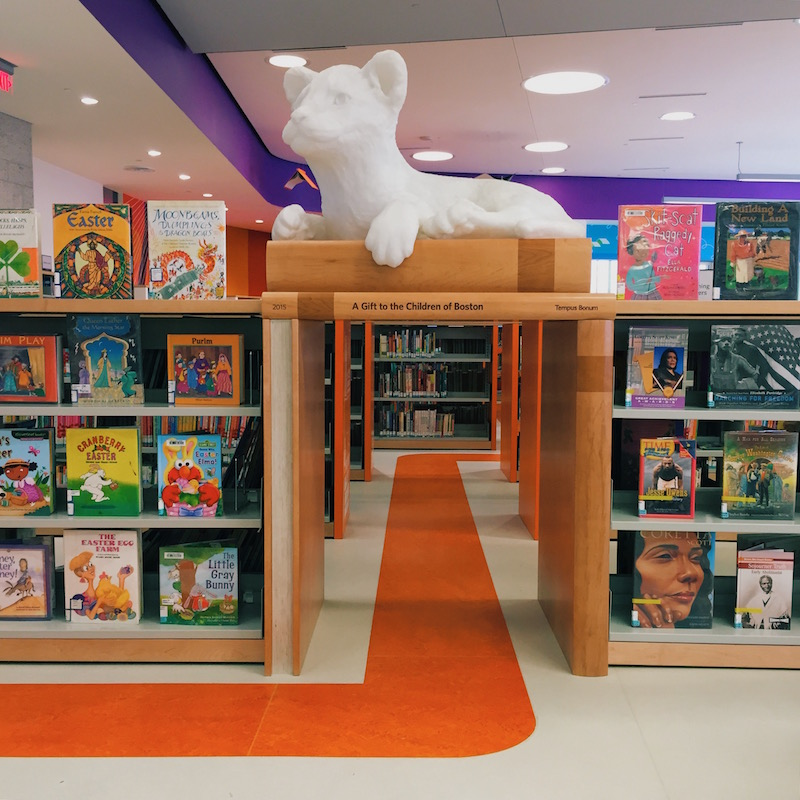 Boston public library copley